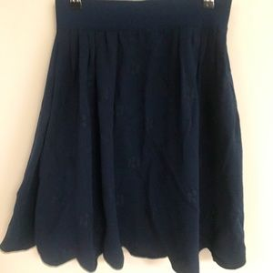 Authentic Chanel skirt - navy blue